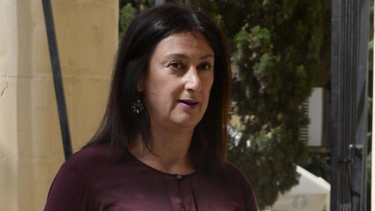 "Killed Maltese journalist wrote ""the situation is desperate"" in her final blog post"