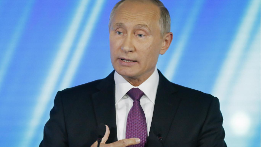 Putin says Russia will develop new weapons systems if US does the same