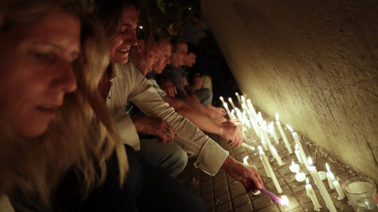Vigil in Argentina for NYC attack victims