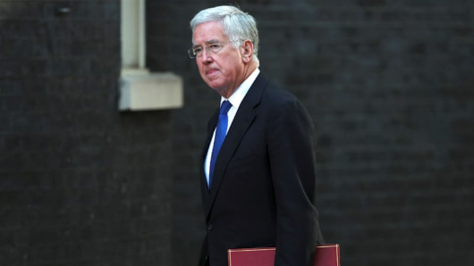 UK's defence chief resigns over sex allegations