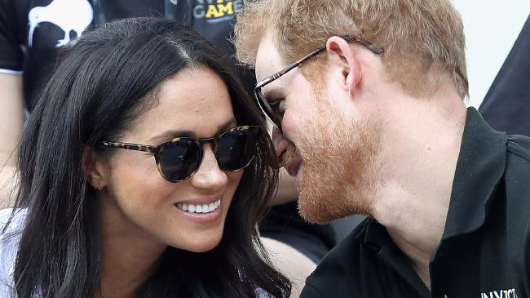 Harry takes Meghan to meet the Queen