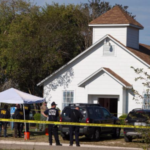 Gunman kills 26 in Texas church