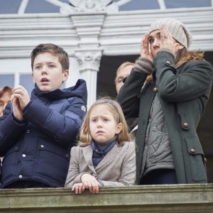 Princess Mary watches horror fall