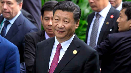 China will work for S.China Sea peace: Xi