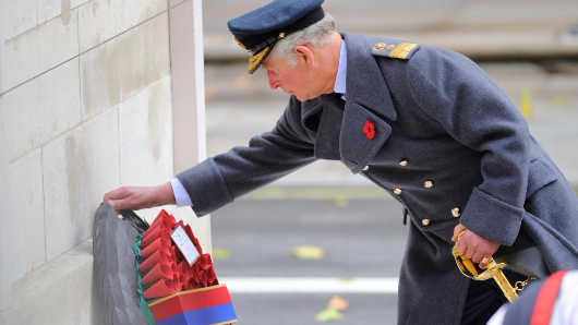 Prince Charles leads Remembrance day