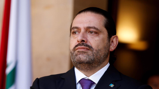 Hariri accepts invitation to go to France
