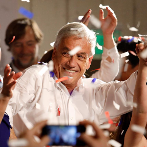 Pinera to face runoff for Chile presidency