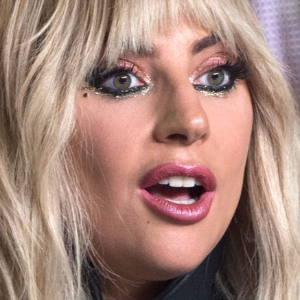 Lady Gaga's fiance debuts large tattoo of singer's face