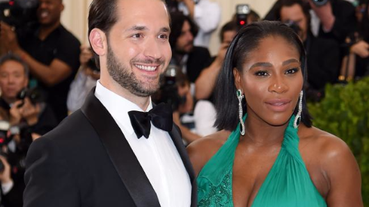 Serena's massive wedding ring