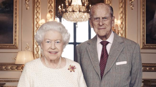 Queen, Prince Philip's anniversary snap
