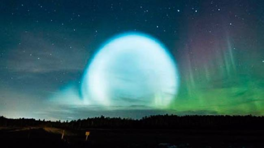 Strange 'alien' orb linked to Putin