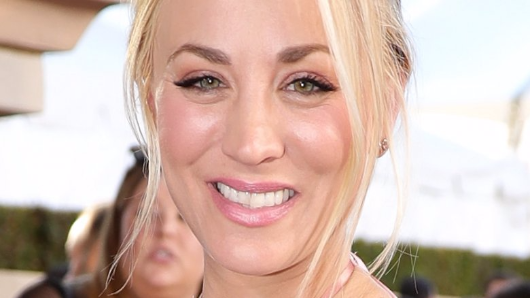 Kaley Cuoco is engaged
