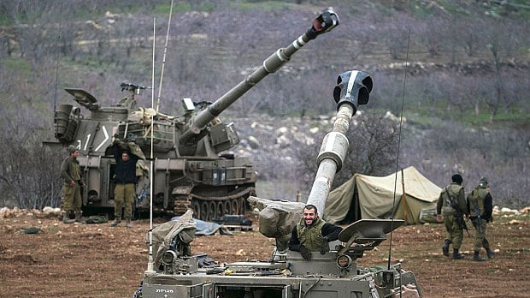 Israel attacks Syrian military targets