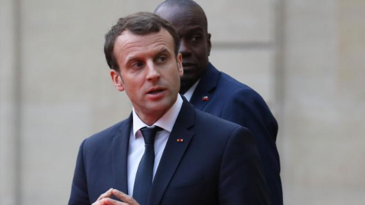 Macron urges action on climate change