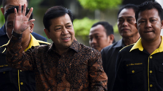 Indonesia's ex-parliament speaker indicted