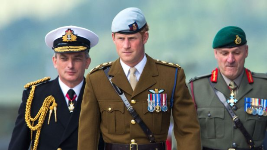 Philip hands Royal Marines role to Harry