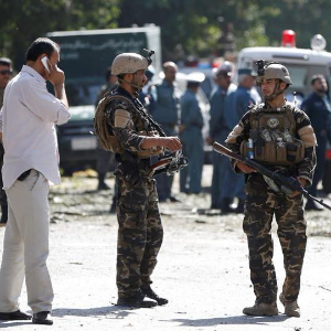 Afghan police killed in car bombing