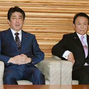 Japan's Abe announces record budget