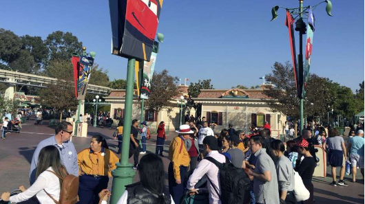 Power fails at Disneyland, guests removed