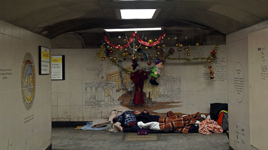 Hard knock life for London rough sleepers