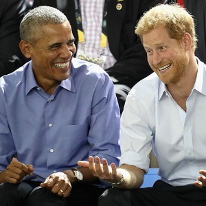 Obama's candid interview with Prince Harry