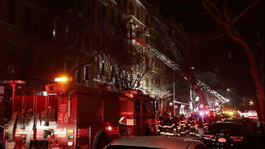 New York fire tragedy kills at least 12