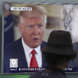 Trump unconvinced on Korea dialogue
