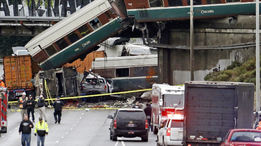 Conductor, passenger sue over Amtrak crash