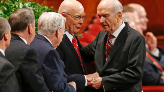 Former heart surgeon next Mormon president