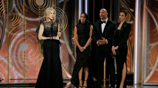 Winfrey, Kidman winners at Golden Globes
