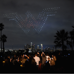 Drone lightshows could replace fireworks