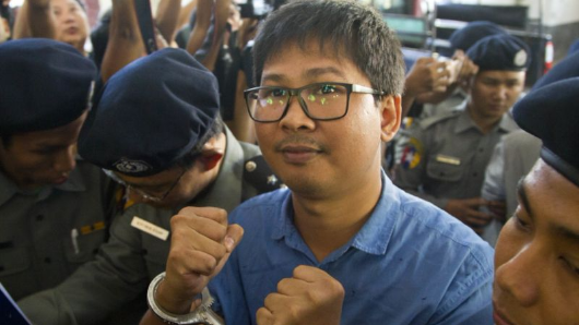 Two Reuters journalists charged in Myanmar
