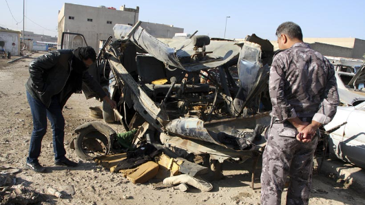 27 dead, 80 injured in Baghdad twin blasts