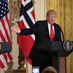 Norwegians prefer home to Trump's US