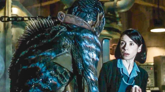 Del Toro creates magic in Shape of Water