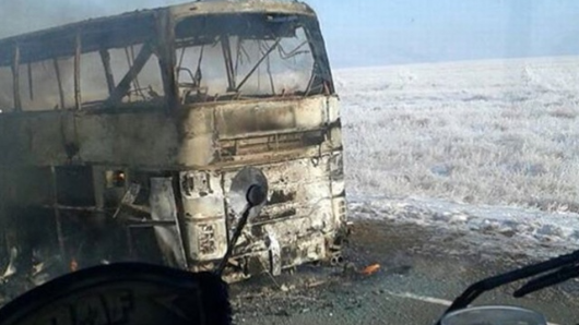 Bus fire in Kazakhstan kills 52