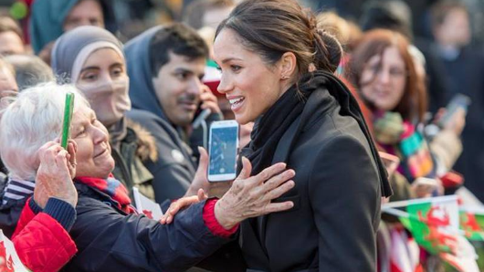 Harry, Meghan visit Wales ahead of wedding