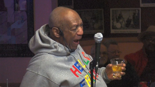 Bill Cosby does comedy show ahead of trial