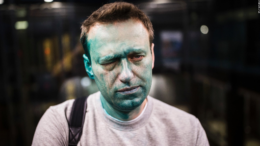 Navalny arrested by police at Moscow rally