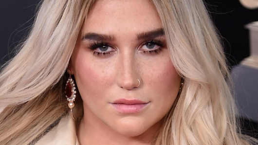 Kesha makes powerful statement at 2018 Grammy Awards