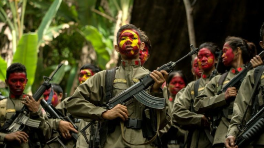 Philippine forces arrest Maoist leader